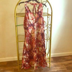 V-Neck Ann Taylor Loft Dress